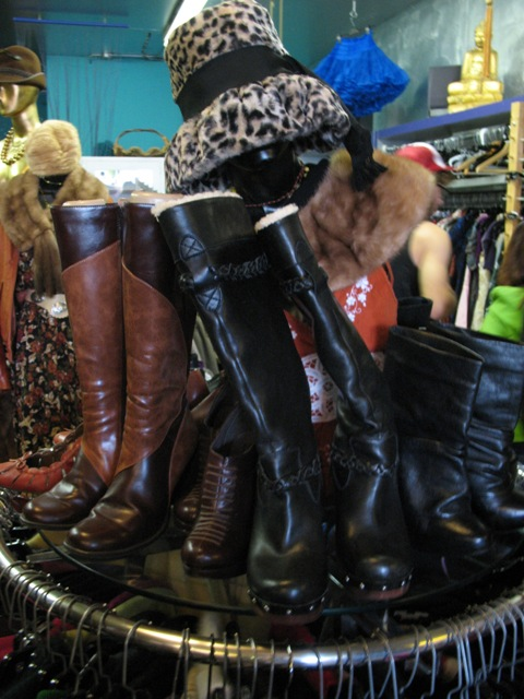 Winter Boots and Hats