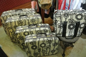 Retro Suitcases...buy the full set or individual pieces