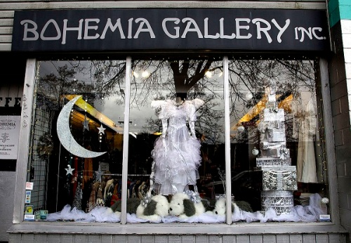 bohemia Christmas Window