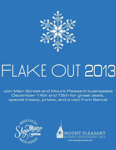 flake out 2013 poster