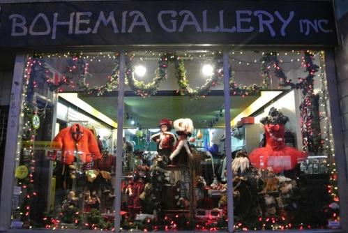 Bohemia Christmas Window 2014