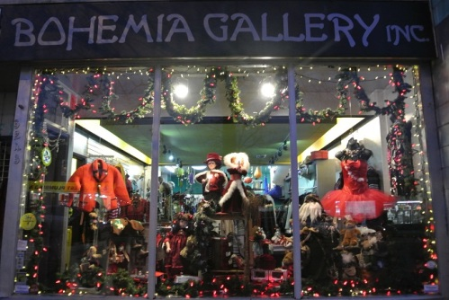 Bohemia Christmas Window 2014