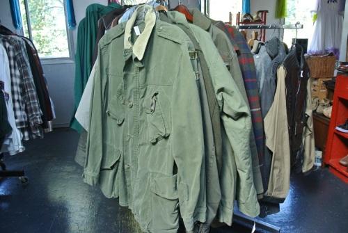 Men's military jackets