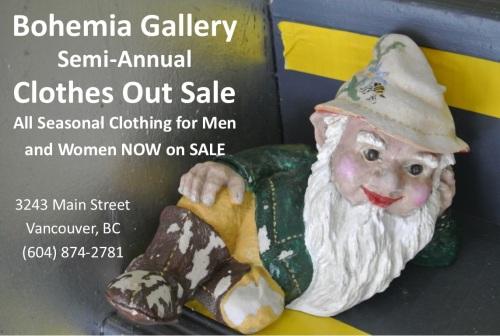Jan 2016 Clothes Out Sale Ad
